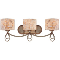 Savoy House Acacia 3 Light Vanity Light in Oxidized Silver 8-3535-3-128
