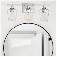 Savoy House 8-4030-3-11 Octave 3 Light 21 inch Polished Chrome Bath Light Wall Light alternative photo thumbnail