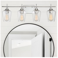 Savoy House 8-4030-4-11 Octave 4 Light 29 inch Polished Chrome Bath Bar Wall Light alternative photo thumbnail