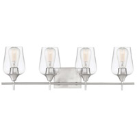 Savoy House 8-4030-4-SN Octave 4 Light 29 inch Satin Nickel Bath Vanity Light Wall Light