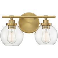 Savoy House 8-4050-2-322 Carson 2 Light 14 inch Warm Brass Bath Light Wall Light