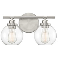 Glass Carson Bathroom Vanity Lights
