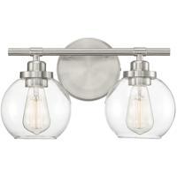 Savoy House 8-4050-2-SN Carson 2 Light 14 inch Satin Nickel Bath Light Wall Light