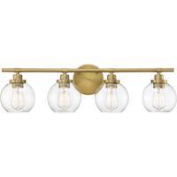 Savoy House 8-4050-4-322 Carson 4 Light 30 inch Warm Brass Bath Light Wall Light