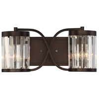 Savoy House 8-4063-2-28 Nora 2 Light 16 inch Oiled Burnished Bronze Bath Bar Wall Light