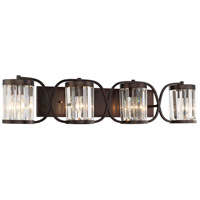 Savoy House 8-4063-4-28 Nora 4 Light 36 inch Oiled Burnished Bronze Bath Bar Wall Light alternative photo thumbnail