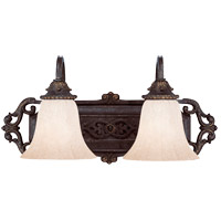 Savoy House Cordoba 2 Light Vanity Light in Antique Copper 8-4095-2-16 photo thumbnail
