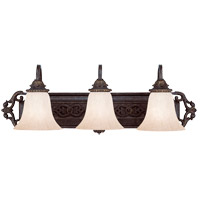 Savoy House Cordoba 3 Light Vanity Light in Antique Copper 8-4095-3-16 photo thumbnail