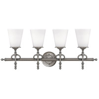 Savoy House Foxcroft 4 Light Vanity Light in Brushed Pewter 8-4155-4-187