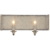 Savoy House Chelsey 2 Light Vanity Light in Oxidized Silver 8-430-2-128