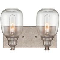 Savoy House 8-4334-2-27 Orsay 2 Light 12 inch Industrial Steel Bath Bar Wall Light