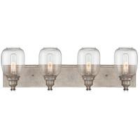 Savoy House 8-4334-4-27 Orsay 4 Light 28 inch Industrial Steel Bath Light Wall Light