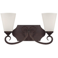 Savoy House Nayah 2 Light Bath Bar in Espresso 8-4375-2-129