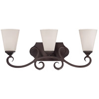 Savoy House 8-4375-3-129 Nayah 3 Light 23 inch Espresso Bath Bar Wall Light photo thumbnail