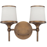 Savoy House Hagen 2 Light Vanity Light in Heirloom Brass 8-4385-2-178