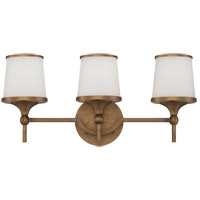 Savoy House Hagen 3 Light Vanity Light in Heirloom Brass 8-4385-3-178