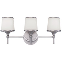 Savoy House Hagen 3 Light Bath Bar in Satin Nickel 8-4385-3-SN photo thumbnail