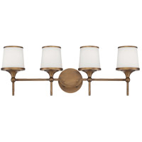 Savoy House Hagen 4 Light Vanity Light in Heirloom Brass 8-4385-4-178