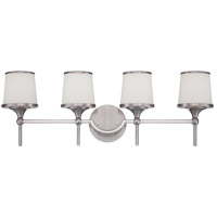 Savoy House 8-4385-4-SN Hagen 4 Light 29 inch Satin Nickel Bath Bar Wall Light