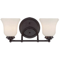 Savoy House Mercer 2 Light Vanity Light in English Bronze 8-470-2-13