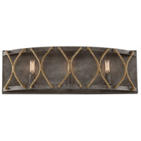 Keating 3 Light 24 inch Artisan Rust Bath Bar Wall Light