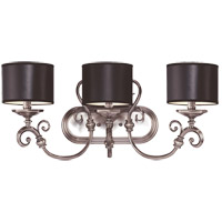 Savoy House Mont La Ville 3 Light Vanity Light in Brushed Pewter 8-5690-3-187 photo thumbnail