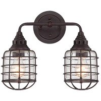 Savoy House Connell 2 Light Vanity Light in English Bronze 8-575-2-13