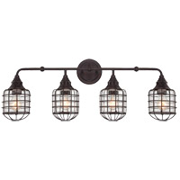 Savoy House Connell 4 Light Vanity Light in English Bronze 8-575-4-13