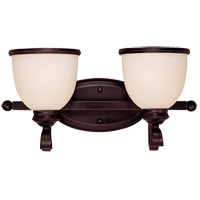 Willoughby 2 Light 17 inch English Bronze Bath Bar Wall Light