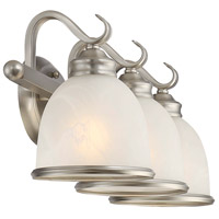 Savoy House 8-5779-3-69 Willoughby 3 Light 25 inch Pewter Bath Bar Wall Light alternative photo thumbnail