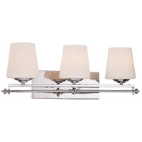 Savoy House Aiden 3 Light Bath Bar in Polished Chrome 8-5850-3-11