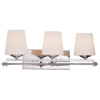 Savoy House 8-5850-3-11 Aiden 3 Light 24 inch Polished Chrome Bath Bar Wall Light alternative photo thumbnail