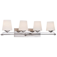Savoy House 8-5850-4-11 Aiden 4 Light 33 inch Polished Chrome Bath Bar Wall Light