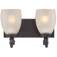 Savoy House Duvall 2 Light Vanity Light in English Bronze 8-627-2-13