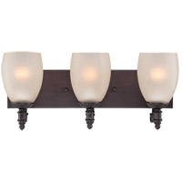 Duvall 3 Light 20 inch English Bronze Bath Bar Wall Light