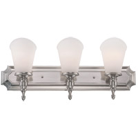 Savoy House Bishop 3 Light Vanity Light in Brushed Pewter 8-6542-3-187 photo thumbnail