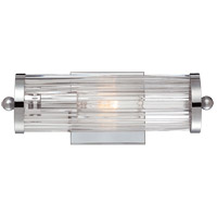 Savoy House Lombard 1 Light Vanity Light in Polished Chrome 8-6801-1-11 photo thumbnail