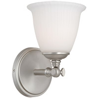 Savoy House Bradford 1 Light Vanity Light in Pewter 8-6830-1-69