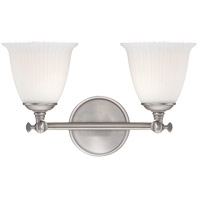 Savoy House Bradford 2 Light Vanity Light in Pewter 8-6830-2-69