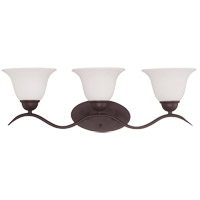 Savoy House Eaton 3 Light Vanity Light in English Bronze 8-6835-3-13 photo thumbnail