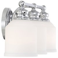 Savoy House 8-6836-3-11 Melrose 3 Light 24 inch Polished Chrome Bath Light Wall Light alternative photo thumbnail