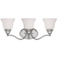 Yates 3 Light 23 inch Pewter Bath Bar Wall Light