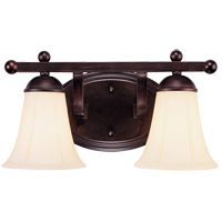 Savoy House Vanguard 2 Light Vanity Light in English Bronze 8-6907-2-13