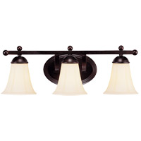 Savoy House Vanguard 3 Light Vanity Light in English Bronze 8-6907-3-13