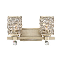 Savoy House 8-7015-2-100 Hammond 2 Light 16 inch Aurora Bath Bar Wall Light, Guilford