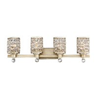 Savoy House 8-7015-4-100 Hammond 4 Light 32 inch Aurora Bath Bar Wall Light, Guilford