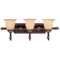 Savoy House 8-749-3-241 Grenada 3 Light 29 inch Moroccan Bronze Bath Bar Wall Light in Cream Textured photo thumbnail