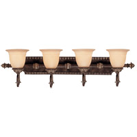Savoy House Grenada 4 Light Vanity Light in Moroccan Bronze 8-749-4-241