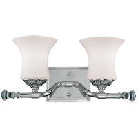 Savoy House Jemmy 2 Light Vanity Light in Polished Nickel 8-8000-2-109