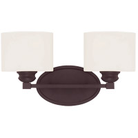 Savoy House 8-890-2-13 Kane 2 Light 16 inch English Bronze Bath Bar Wall Light